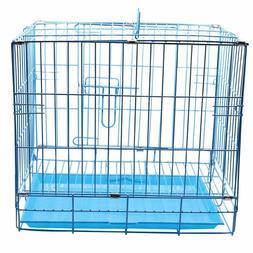1 pcs Rabbit Dog Cat Metal Pet Cage Length 425mm/Width 305mm