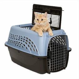 Petmate Medium 2-Door Top Load Pet Kennel Blue Animal Dog an