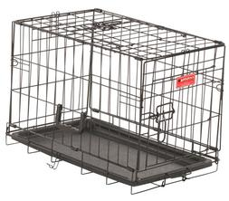 Lucky Dog 2 Door Dog Training Kennel with Rust-Resistant Wir