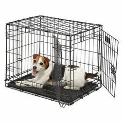 "20""-48"" Pet Kennel Cat Dog Folding Steel Crate Animal Plaype"