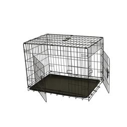 """24"""" Folding Suitcase Dog Cat Crate Cage Kennel Heavy Duty Ru"""
