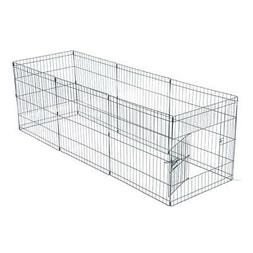 "24""Tall Dog Playpen Crate Fence Pet Play Pen Exercise Cage -"