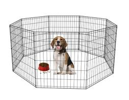 "BestPet 30"" Tall Dog Playpen Crate Fence Pet Kennel Play Pen"
