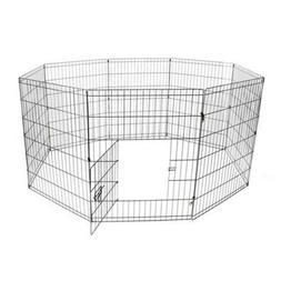 ALEKO 36 Inch Dog Playpen Pet Kennel Pen Exercise Cage Fence