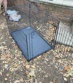 """36""""Medium Large Giant Breed Dog Crate Kennel XL Pet Wire Cag"""