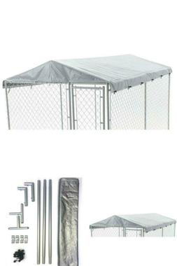 6 ft. x 10 ft. Universal Roof Dog House Pet Kennel Cover Wat