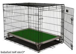 Kuranda All-Aluminum Dog Crate Bed - 40oz Vinyl Fabric - Hun