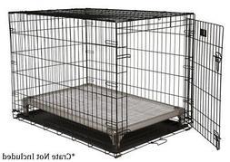Kuranda All-Aluminum Dog Crate Bed - Open Weave Fabric - Sno