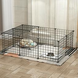 BestPet Tall Dog Playpen Crate Fence Pet Play Pen Exercise C