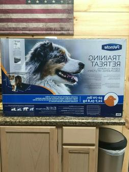 brand new dog crate   large  50-70 lbs  36x23x25 two doors