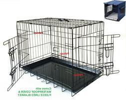 Carrier for HOME, Car, DOG Training Puppy Cage Small Medium