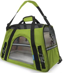 OxGord Small Comfortable Carrier Soft-Sided Pet Carrier , Ch