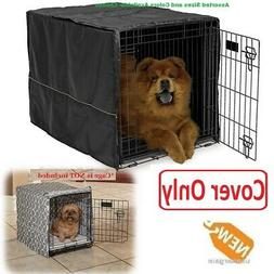 Cover FOR Dog Crate Pet Cat Cage Kennel Privacy 22/24/30/36/
