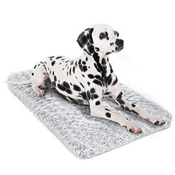 Dog Bed Kennel Pad Washable Anti-Slip Crate Mat for Small Do