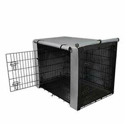"""yotache Dog Crate Cover for 30"""" Medium Double Door Wire Dog"""
