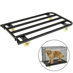 Dog Crate Dolly, Pet Crate Dolly, 42.5x23.6x7 Inches, for Do