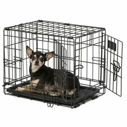 MidWest Homes for Pets Dog Crate | iCrate Single Door & Doub