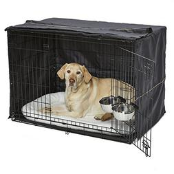 iCrate Dog Crate Starter Kit   42-Inch Dog Crate Kit Ideal f
