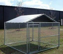 Dog Kennel Roof Kit Cover 10x10 Outdoor For Cage Crate Sun S