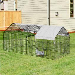 "Outdoor 87"" Large Dog Kennel Crate Pet Enclosure Playpen Run"