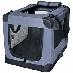 Dog Soft Crate 26 Inch Kennel for Pet Indoor Home Outdoor Us