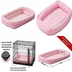 double bolster pet bed for metal dog