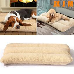 Extra Large Cozy Dog Bed Pet Lounger Deluxe Cushion for Crat