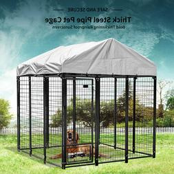 Extra Large Dog Cage Crate Outdoor Dog Kennel House Heavy Du