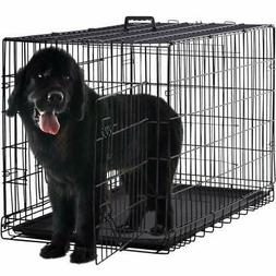 Extra Large Dog Crate Kennel XXL XL Huge Folding Pet Wire Ca