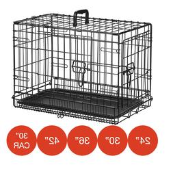 Folding Metal Dog Cage By Mr Barker Puppy Training Crates 5