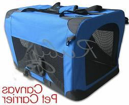 High Quality Fabric Pet Carrier Dog Cat Travel Crate for Med
