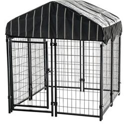 Kennel For Small Dogs Crate Cage Fence Pet Shelter Playpen C