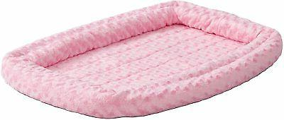 18 double bolster pet bed for metal