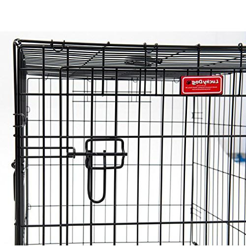 Lucky Dog Dog Rust-Resistant Wire, and Leak-Proof Removable Giant - x 33H Inch