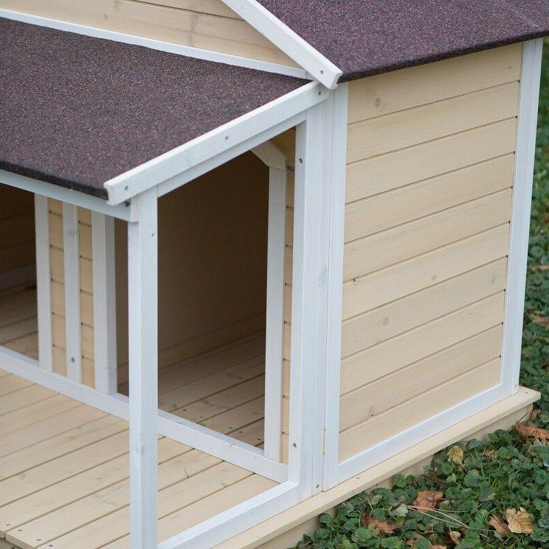XL House Dogs Extra Wood Insulated Covered