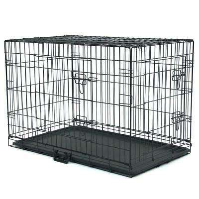 """20""""/24""""/30""""/36""""/42""""/48"""" Pet Dog Folding Crate Wire"""