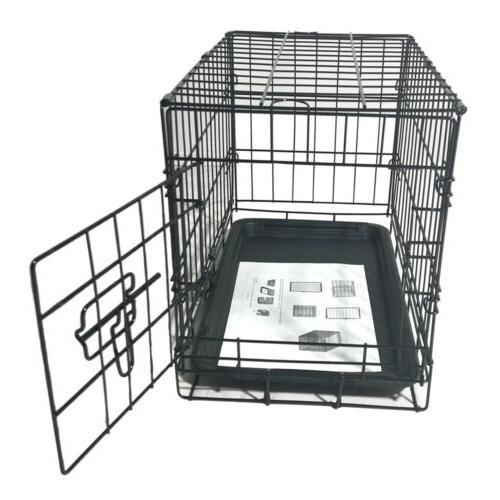 "20"" Kennel Steel Tray Indoor"