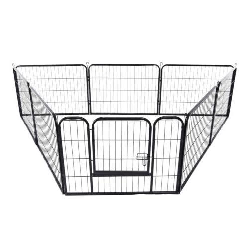 32'' Duty Panel Cage Pet Dog Playpen Kennel