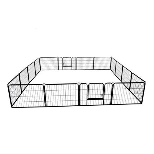 32'' Heavy Panel Metal Crate Pet Exercise Playpen