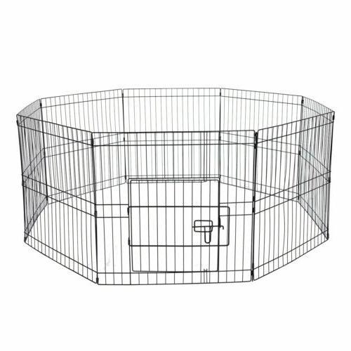 32'' Heavy Panel Metal Cage Pet Exercise Playpen