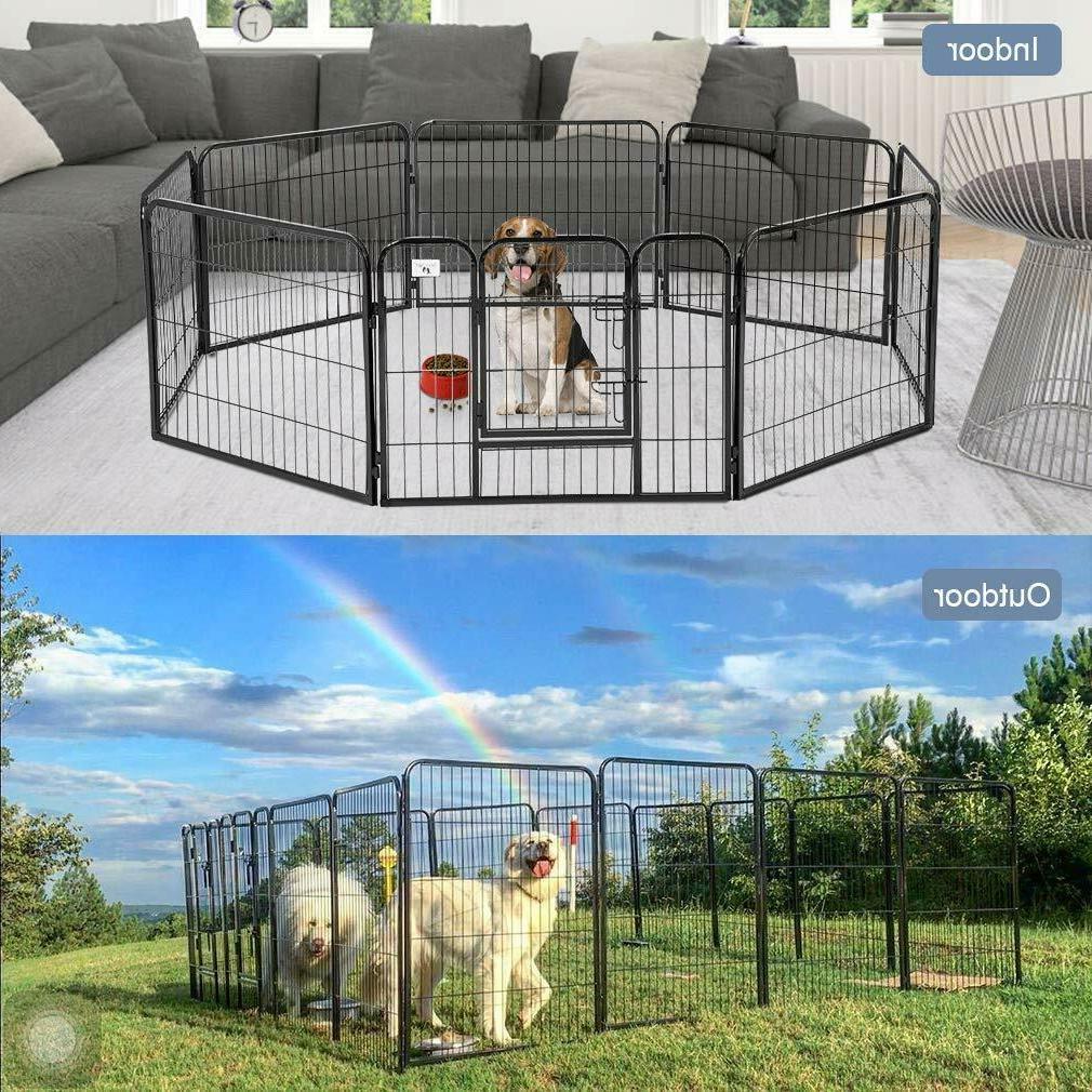 32 heavy duty 8 panel metal cage