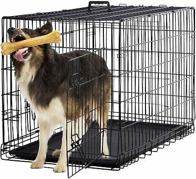 36 dog crate 2 door w divide