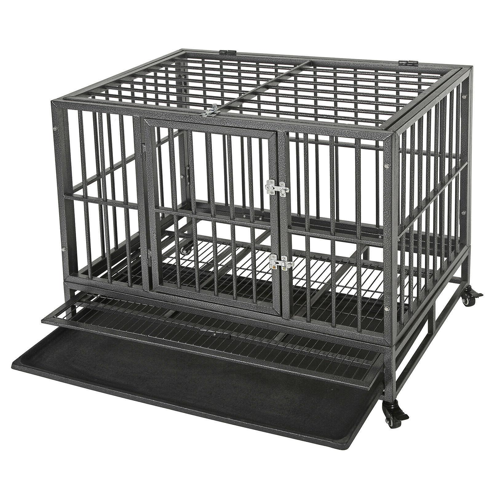 """36""""Portable Cage Crate Pet 2"""