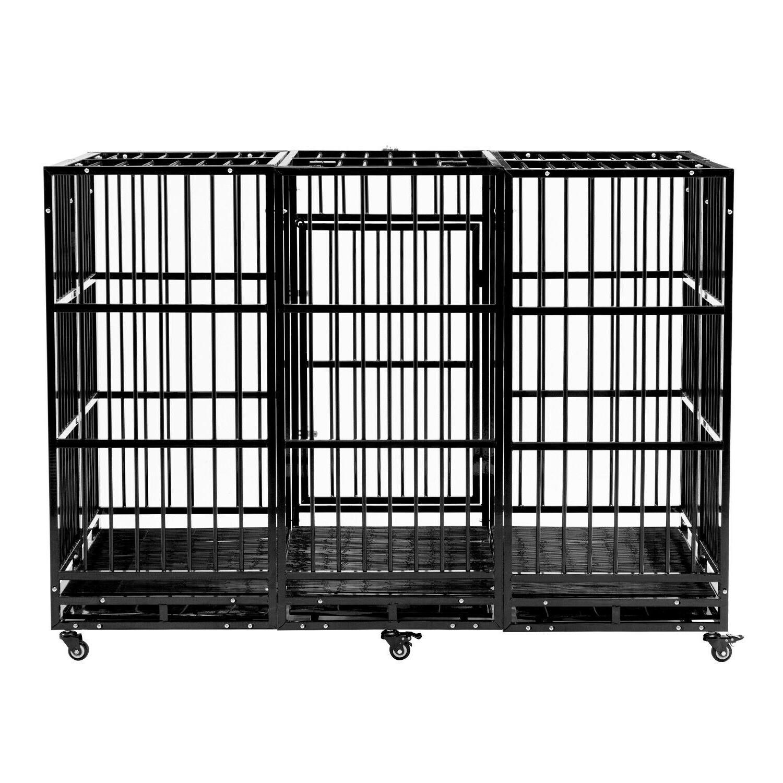 63'' Dog Crate Large Tube Duty &