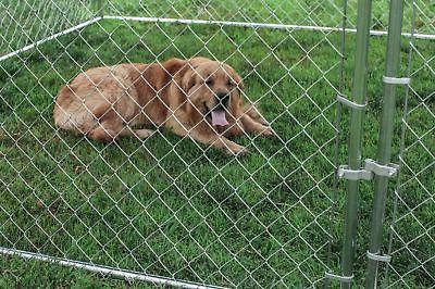 ALEKO Chain Link Kennels Family Walls Only 7x7x6