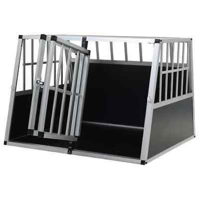 vidaXL Aluminum Cage Animal Pet Carrier
