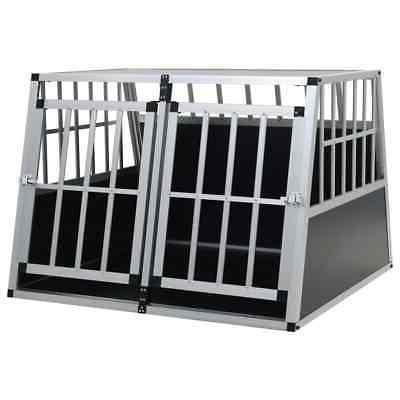 aluminum dog cage animal pet house crate