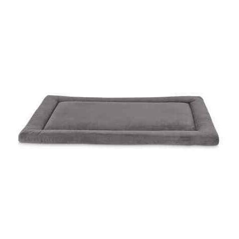 animaze soft touch gray dog mat 29