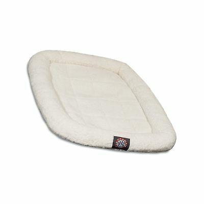"Majestic Pet Products Crate Pet Bed Mat size: 48""L x 30""W, I"
