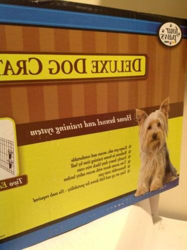 Four Paws Deluxe Crate For